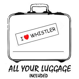 Free luggage on board