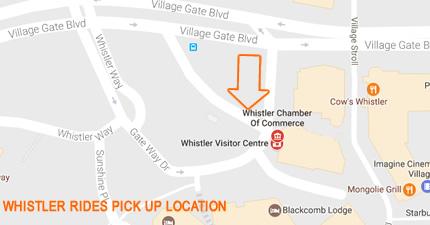 Gateway loop pickup whistler rides