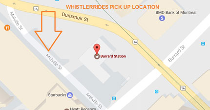 Burrard skytrain bus pickup